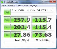 Benchmark Intel X25-M G2 Postville